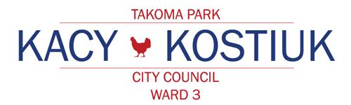 Kacy Kostiuk for Takoma Park